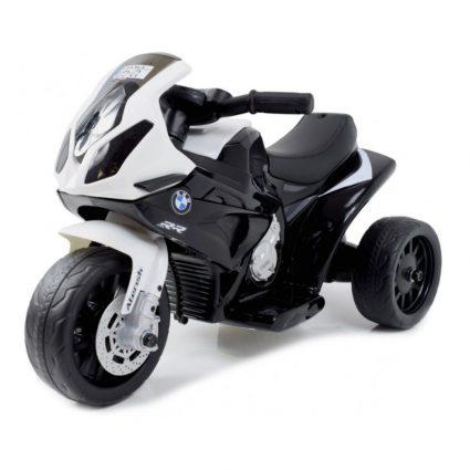 Электромотоцикл BMW S1000RR Black (трицикл, 6V) - JT5188 (музыка, свет фар, сиденье кожа)