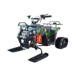 Снегоцикл Mini-Grizlik Snow зеленый