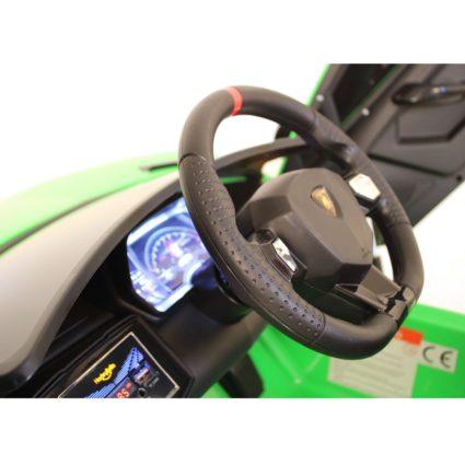 Электромобиль Lamborghini Avendator SVJ - HL328 (колеса резина, кресло кожа, пульт, музыка)